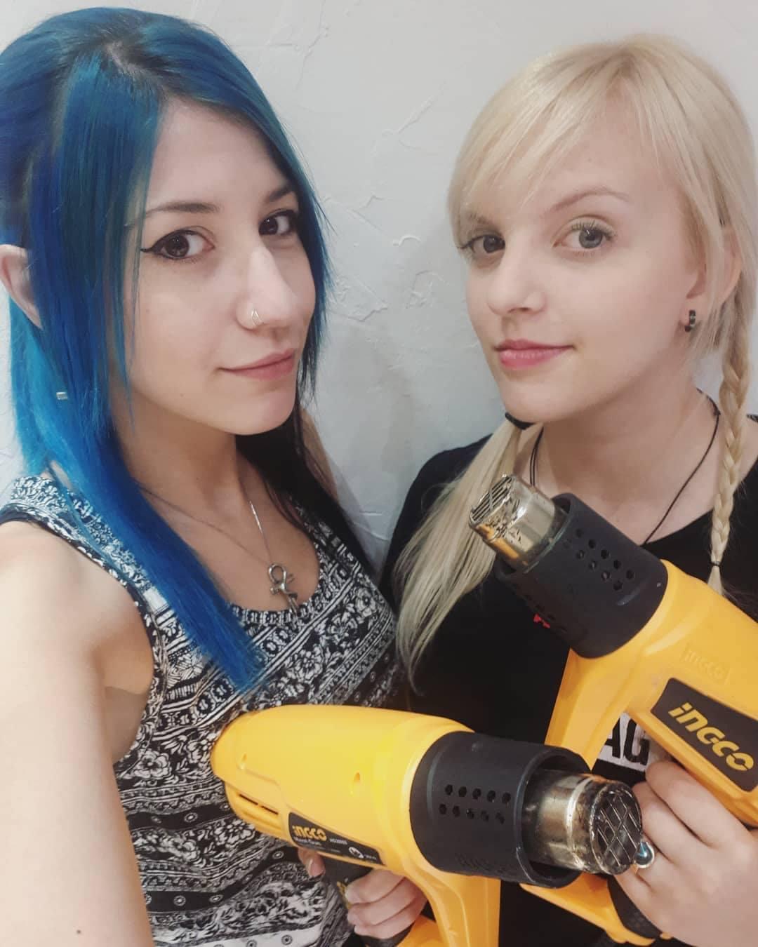 Hikari & Lorian - Costume & Prop Making